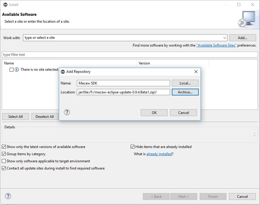 Macaw Software Documentation: Macaw Software Documentation